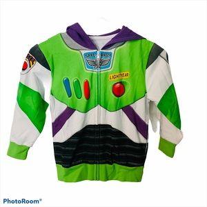 NWT Disney Buzz Lightyear Hooded Sweater